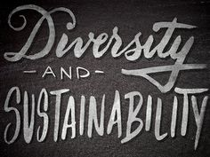 Diversity and Sustainability