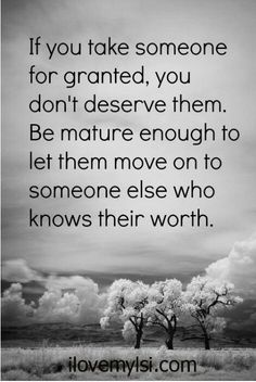 Taken for granted