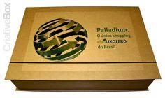 CriativeBox / Box personalizado SHOPPING PALLADIUM / #criativebox #embalagens #brindepersonalizado #brinde #presskits   #Caixapersonalizada #projetosespeciais #caixa #caixarigida #package #Box #embalagensespeciais #packaging