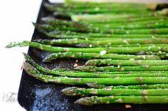 Garlicky Roasted Asparagus | Farmstead Cookery