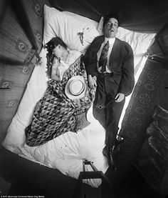 These are the haunting images from grisly crime scenes used to crack cases in 1910s New Yo...