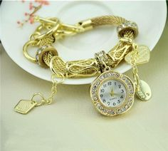 2015 Fashion Bracelets Watch Wristwatch For Women Lady Wrist Alloy Bracelets Watches Charming Infinity Luxury Watch From Dhwarranty, $5.26   Dhgate.Com