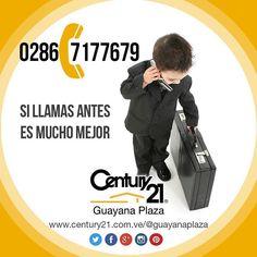 La experiencia y el respaldo de #Century21 es lo único que necesitarás. Más audaces más capaces más rápidos  #FelizLunes  Llama al 0286-7177679 o visita nuestro sitio en la web (link en el Bio del perfil)  #BienesRaíces #realestate #inmobiliario #compra #venta #alquiler #oficina #local #casa #apartamento #terreno #Venezuela #Guayana #pzo #pzocity #Century21