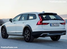 Volvo has launched a new marketing campaign for the Cross Country, encouraging people to rediscover their passions. Volvo Wagon, Volvo Cars, Cross Country, Automobile, Car Posters, Poster Poster, Classic Tattoo, Concept Cars, Cars And Motorcycles