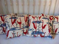 Cojines con tela de Coordonné by Carmen Estones de Costura www.nataliamaragall.com