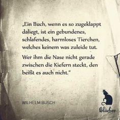 Wilhelm Busch Beruhmte Zitate Witzige Zitate Universum Zitate Literarische Zitate Walter Moers