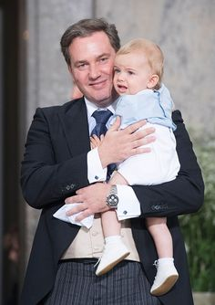 - Photo - Chris O'Neill has opened up about the two adorable royal children he shares with his wife Princess Madeleine of Sweden Prince Carl Philip, Prince Daniel, Princess Victoria Of Sweden, Crown Princess Victoria, Swedish Royalty, Marriage Dress, Baby Prince, Royal Crowns, Royal Babies