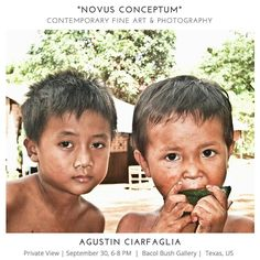 Novus Conceptum #Exhibition- 30 September 2016 6pm Private View - #Texas  #US #photography