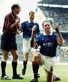 Gough and McCoist  Glasgow Rangers
