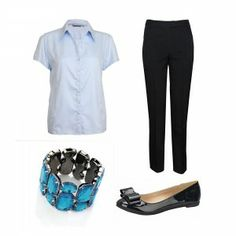 What to wear to work - Women Business Clothes - Blue Mood - Professional clothing for women