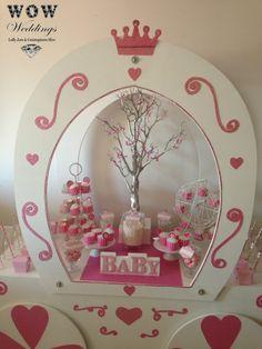 Princess baby shower www.wowweddings.com.au