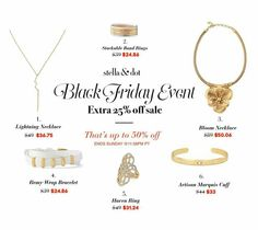 An extra 25% off? Um, YES! http://www.stelladot.com/ts/ladc6