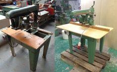 our new 1965 refurbished radial arm saw