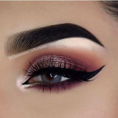 Rose gold eye makeup