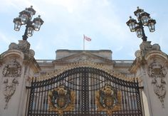 Royal entrance to Buckingham Palace