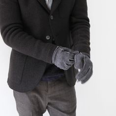 HARRIS WHARF LONDON Gloves # CNF - 2 - Silver and Gold Online Store