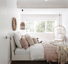 Three Birds Renovations design a mud room right at the front door of Lana Taylor's forever home as a take on urban family living. Bird Bedroom, Home Bedroom, Bedroom Decor, Bedroom Ideas, Bedroom Inspo, Master Bedroom, Interior Design Hd, Hamptons Bedroom, Three Birds Renovations