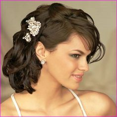[ Medium Length Wedding Hairstyles Wedding Hairstyle ] - wedding hairstyles for brides bridesmaids in 2017 therighthairstyle top 20 wedding hairstyles for medium hair,black brides with shoulder length hair wedding hairstyles for black brides with shoulder Updos For Medium Length Hair, Wedding Hairstyles For Medium Hair, Long Hair Wedding Styles, Short Hair Updo, Party Hairstyles, Bride Hairstyles, Down Hairstyles, Medium Hair Styles, Curly Hair Styles