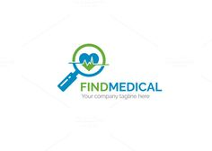 Find Medical Logo by XpertgraphicD on @creativemarket