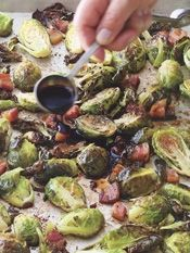 Barefoot Contessa - Recipes - Balsamic-Roasted Brussels Sprouts