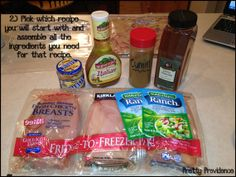 10 Freezer Meals in 1 Hour   15 Minutes Plus Recipes   Grocery List Printable