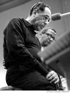 Duke Ellington and Billy Strayhorn  Chuck Stewart / ITVS Photo: Chuck Stewart / ITVS