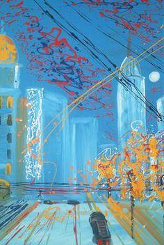 "Saatchi Art Artist Roberto Corso; Painting, ""56ma STRADA"" #art"