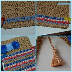 DIY bolso étnico. Ethnic bag DIY.