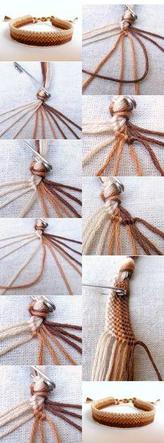 - diy jewelry To Sell Ideen Diy Bracelets With String, Diy Bracelets Easy, Thread Bracelets, Summer Bracelets, Bracelet Crafts, Loom Bracelets, Macrame Bracelets, Diamond Friendship Bracelet, Diy Friendship Bracelets Patterns