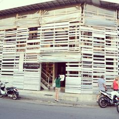 The Junction, ***Old Facade*** across from Seminyak Square.