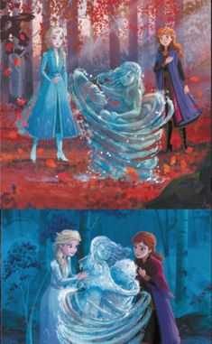 New Frozen 2 images, plot detailes and information Disney Princess Pictures, Disney Princess Art, Disney Nerd, Disney Fan Art, Princesa Disney Frozen, Disney Frozen Elsa, Frozen 2 Wallpaper, Disney Wallpaper, Disney Kunst