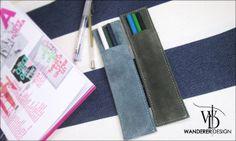 -Wanderer Design手感設計- 簡單素色麂皮 小筆袋 多種顏色皮料可選 | WANDERER DESIGN - Yahoo! 奇摩拍賣