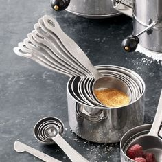 Stainless Steel Measuring Cups   Sur la Table