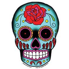 Diseño tatuaje calavera mexicana