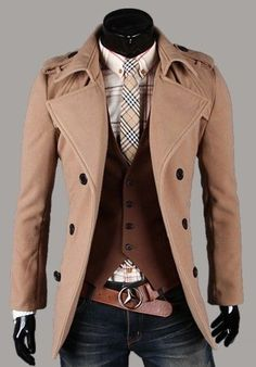 Men's Fashion: Casual Class Love This!