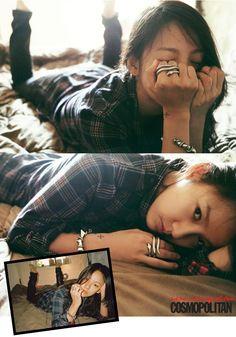 Lee Hyori - Cosmopolitan Magazine September