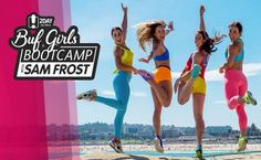 The BUF Girls are coming to ATP Conference Centre with 2Day FM's Sam Frost for the ultimate body bootcamp in Sydney. Kicking off on Saturday July 30 at 8.30am, join the BUF Girls team and Sam at the Exhibition Hall at ATP Conference Centre. Register now at http://www.2dayfm.com.au/scoopla/fit/buf-girls/