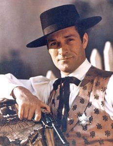 Westerns > The Life and Legend of Wyatt Earp (starring Hugh O'Brien) Hugh O'brian, Wyatt Earp, O Brian, Vintage Television, Tv Westerns, Western Movies, Old Tv Shows, Vintage Tv, Tv Actors