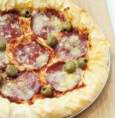 Easy Phyllo Pizza
