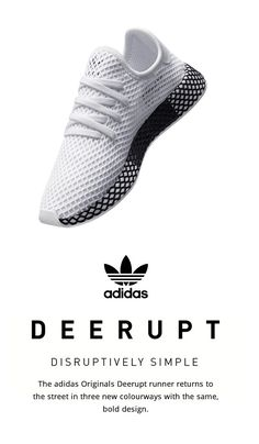 separation shoes fc4ca acdcd adidas Originals Deerupt Adidas Sneakers, Green Sneakers, Men s Sneakers,  Sneakers Fashion, Leather
