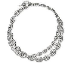 Chaîne d'Ancre Enchaînée Necklace | Silver Jewelry Hermès Necklaces Jewelry | Hermès, Official Website
