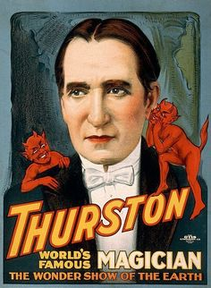 Thurston, world's famous magician the wonder show of the earth. Cleveland, O.