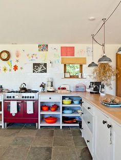 Quirky Kitchen Gatekeepers Cottage Pinterest Kitchens