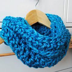 Easy Crochet Kids Cowl