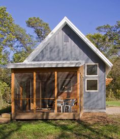 Murphy Small House: Passive Solar Design under 800 sf.  Ecco deep...sustainable consulting.  Resource to remember.