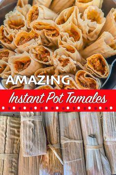 Fun Food, Good Food, Mexican Tamales, Pork Tamales, Pork Broth, Tamale Recipe, Shredded Pork, Ethnic Food, Crockpot Meals