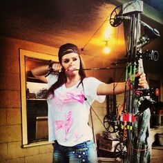 Krystal Campbell from the American Hoggers repin that Southrrn Life Apparel, pink deer scrape