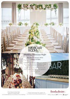 Harbour Room Wedding Showcase Night: food&desire & Where the Grass is Green   #weddingshowcase #harbourroom #wtgig
