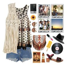 """""""Cool Boho Festival Style with Clogs & Floppy Hats"""" by karineminzonwilson ❤ liked on Polyvore featuring Polaroid, CO, Etro, rag & bone, Cutler and Gross, Dolce&Gabbana, Yves Saint Laurent, Crabtree & Evelyn and Winter Kate"""