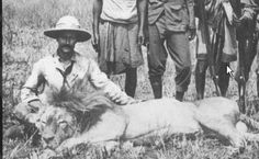 Edouard Foa (1862-1901) walked 7200 miles from the Zambezi Delta to the mouth of the Congo. He created a collection of African animals and plants for the Paris Natural History Museum.